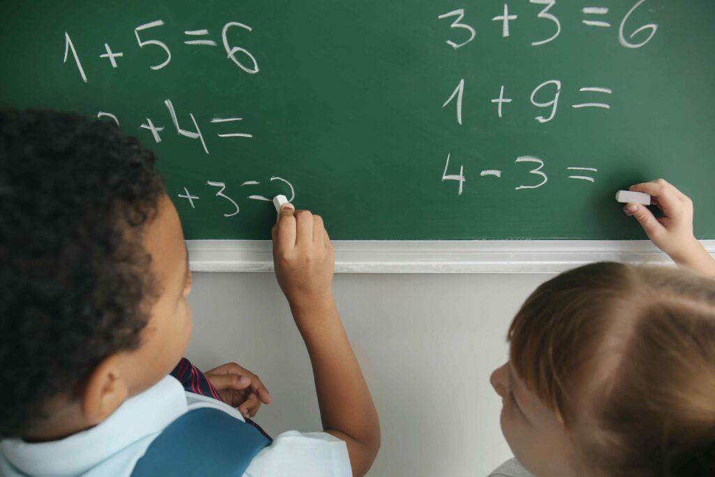 Barn räknar